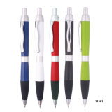 De plastic Slanke Goedkope Promotie Kleurrijke Pen van de Ballpoint