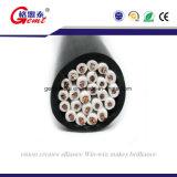 Câble de commande 2/4/6/8 jupe de PVC du câble LSZH de contrôle de sécurité des faisceaux 16AWG 18AWG avec la résistance d'incendie