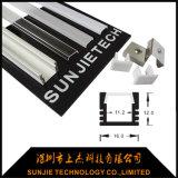 Longitud máxima ahuecada del LED de tira del perfil de aluminio los 3m de la luz