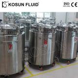 Produits chimiques industriels en acier inoxydable homogénéisateur émulsionneur cuve de mélange de peinture de couleur