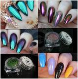 Rosen-Goldchrom-Spiegel-Perlen-Pigment für Nagel-Gel-Polnisches