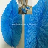 Cubrezapatos Nonwoven impermeable con elástico y de impresión