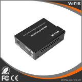 Media-Konverter 1X 10/100/1000Base-T RJ45 zu 1X 1000Base-X SC/FC/ST, T1310/R1550nm 40km