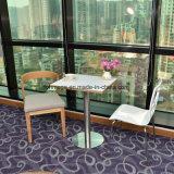 [سليد ووود] ساق ينجّد جلد حديثة مطعم كرسي تثبيت ([فوه-0784-1])