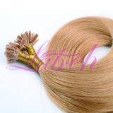 Remy pré collé des cheveux soyeux d'extension droites U Astuce hair extension