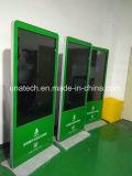 65-дюймовые напольные информационных киосков ЖК-экран плеера Video Display