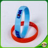 Wristband del silicone di marchio impresso regalo promozionale