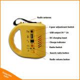 Lampe solaire portative de lanterne de DEL avec le chargeur de téléphone pour l'urgence campante