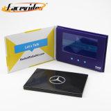 Facevideo cadeau vidéo LCD écran TFT numérique Invitation Carte de voeux vidéo LCD pour le marketing