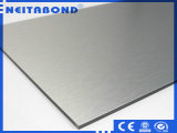 Painel Composto de alumínio escovado de fábrica na China