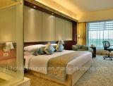 Mobiliário chinês / Quarto de hotel de luxo em madeira moderno mobiliário (GN-HBF-06)