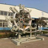 밀어남 기계를 만드는 플라스틱 HDPE PP 가스 공급 & 배출관