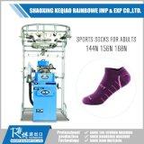 Automatische machine voor het maken van platte sokken