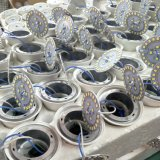水証拠の鋳造アルミフレームLEDの球根ライト9W