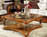 E29 классических квадратных Кофейный цельной древесины покраска