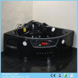 Bañera de masaje de lujo con color negro (TLP-632 Negro mando neumático)