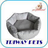 يطبع نوع خيش و [ميني-بلوش] كلب قطع سرير ([و1711061])