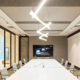 Sala de conferencias Oficina Studio Comedor rectangular de iluminación LED colgante