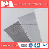 Revêtement en poudre Anti-Seismic ignifugé aluminium Panneaux d'Honeycomb pour boîtier de la machine/ Surface d'usinage