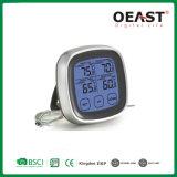 Barbacoa Termómetro Digital simple horquilla con cuatro Ajuste de alarma de temperatura Ot5231b11