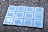 Mattonelle di ceramica blu-chiaro della parete della cucina lustrate 120X180mm della superficie ruvida delle mattonelle della porcellana di pollice 4.7X7