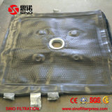 Prezzo abrasivo del tessuto filtrante della filtropressa di Chinlon della parte incastrata di un mattone in aggetto di resistenza
