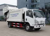 Camion di trasporto di compressione dell'immondizia dei rifiuti del Giappone 700p LHD 6m3 7 M3 8 Cbm