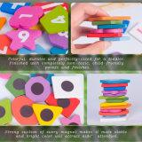 Venda por grosso de escrita de madeira Prancheta Magnética Cavalete Crianças Puzzle Educacional