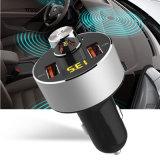 Le design de mode Kit voiture Bluetooth Lecteur MP3 Prise en charge l'émetteur FM TF carte mains libres sans fil