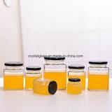 Copo de vidro de fábrica para Jam // Alimentos conservas/Pickle jarra de mel