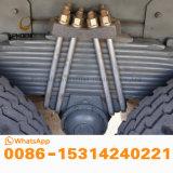最もよい条件のアフリカの市場の競争価格の熱い販売の10の車輪が付いている中間の上昇のHOWOによって使用されるダンプトラック