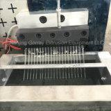 Máquina de rallar de fibra de plástico PET/máquina de reciclaje de hilo de poliéster
