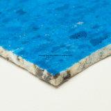 11mm PU-Schaumgummi-Teppich lag mit nicht gesponnenem Gewebe zugrunde