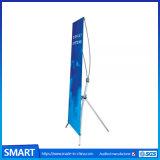 表示プリントポスター調節可能なX立場の旗を広告する60*160 80*180cmの昇進