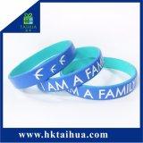 Wristband del braccialetto del silicone riempito inchiostro per promozionale (TH-05208)