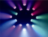 Testa mobile della lavata LED della strumentazione 7X40W della fase con lo zoom