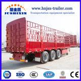Wetenschappelijk Ontwerp 40/50 Ton 3 de Semi Aanhangwagens van de Vrachtwagen van de Tractor van de Staak/van de Omheining van de As