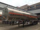 Acero inoxidable 304 316 con tanque de la capa de aislamiento térmico de remolque semi