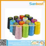 Naaiende Draad 40/2 van de Polyester van 100% Ring Gesponnen