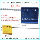 Desechables, contenedor de bloqueo de cable de alta seguridad de la etiqueta de cadena juntas (KD-318)