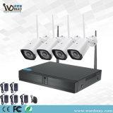 4 chs 1.0MP CCTV/2,0 МП камера домашних систем безопасности беспроводной сети WiFi сетевой видеорегистратор комплекты
