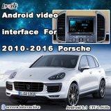 Android 6.0 Cuadro de navegación GPS de la interfaz de vídeo para Porsche Macan, Cayenne Panamera PCM3.1, con WiFi Mirrorlink Mapa de Google...