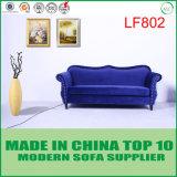 Amerikanisches modernes Art-Chesterfield-königliches Blau-Samt-Gewebe-Sofa Divani