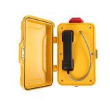 Imperméable jaune GSM Téléphones Industriels SIP VoIP avec une haute qualité