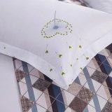 놓이는 호텔 직물 침구 장을%s 가득 차있는 면 시트와 베갯잇 (JRD116)