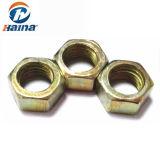 Grade 8,8 M10 M12 Couleur en acier au carbone galvanisé les écrous hexagonaux DIN934