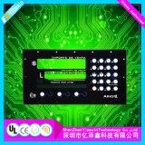 PANEL-Grafik-Testblätter des Membranschalter-SMT LED Vor