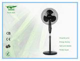 16 pollici come ventilatore del basamento della pala con colore nero basso rotondo Fs40-1605