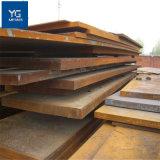 La norme ASTM A283 grade C doux de la plaque en acier au carbone / 6mm épaisseur de tôle en acier galvanisé