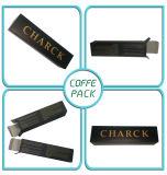 Schwarzer Ivory Papier-Verpackungs-Kasten des Drucken-350g